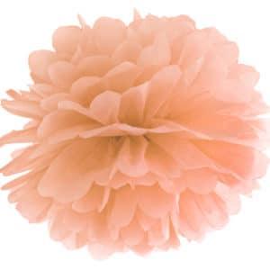 Blotting paper Pompom, light peach, 35cm