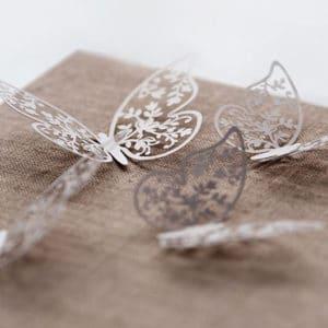 Papirs Dekorationer, Sommerfugl