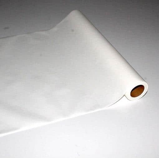 Bordløber - Hvid - 0,4 m x 4,8 m
