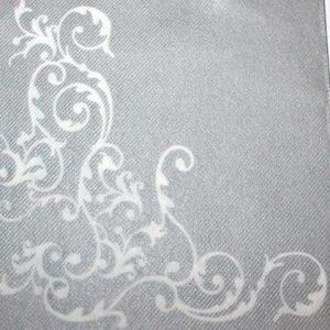 Tekstilserviet Pomp Sølv Hvid - 12 stk. - 40 x 40 cm