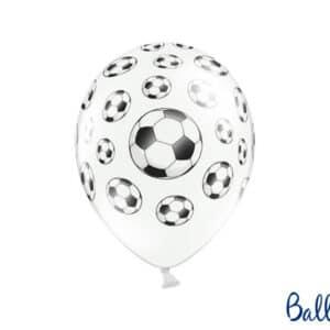 Fodbold Balloner, Pastel Hvid