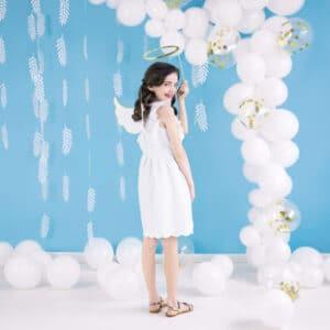 Balloner Hvide 30 cm