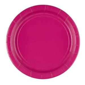 Tallerkener i Pink